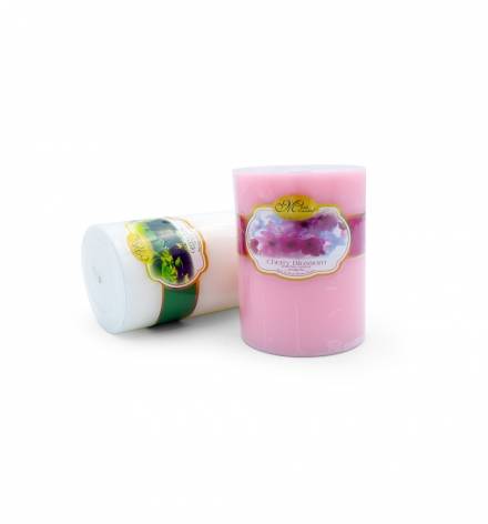 Scented Pillar candle  Cylinder Shape D6H10