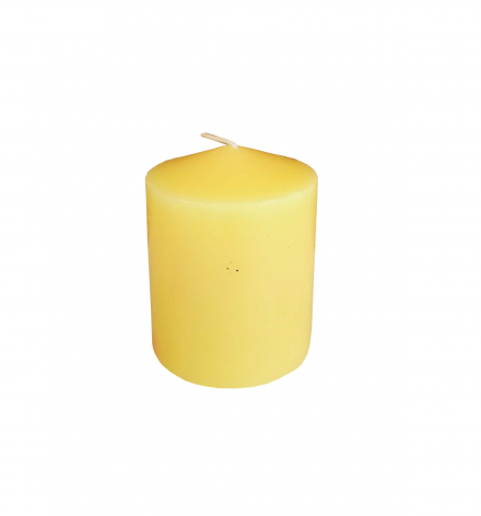 Unscented  pressing pillar candle
