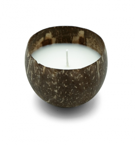 Coconut Shell filled Candle