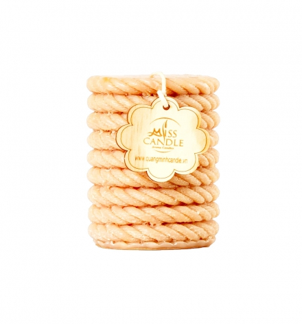 Pillar with rope Décor Candle