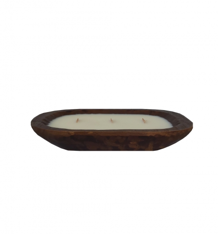 Small Dough Bowl Candle